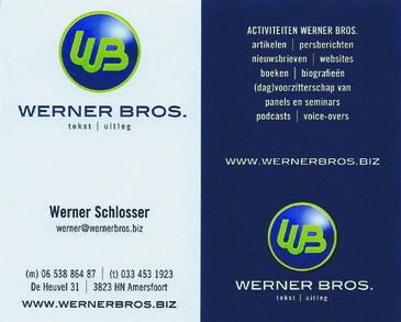 Werner_brosvisitekaartje